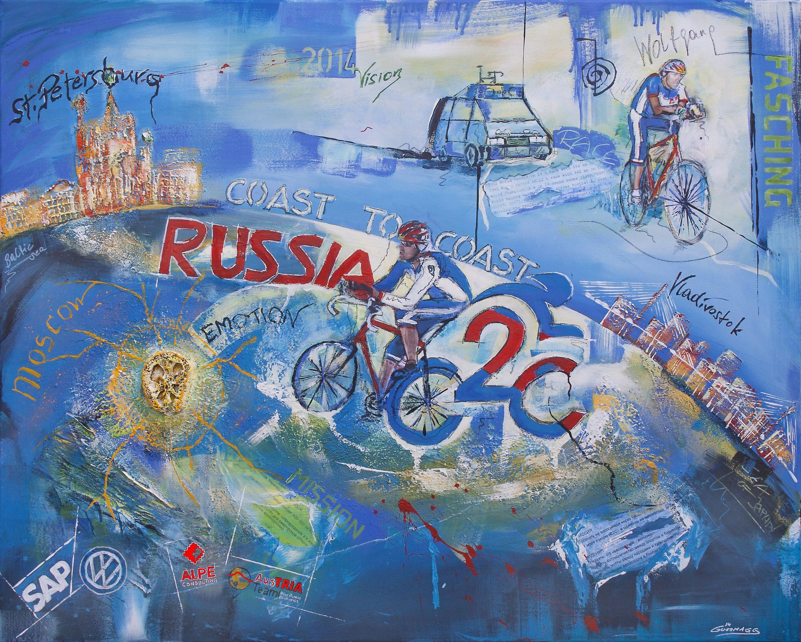 Race across Russia - Wolfgang Fasching